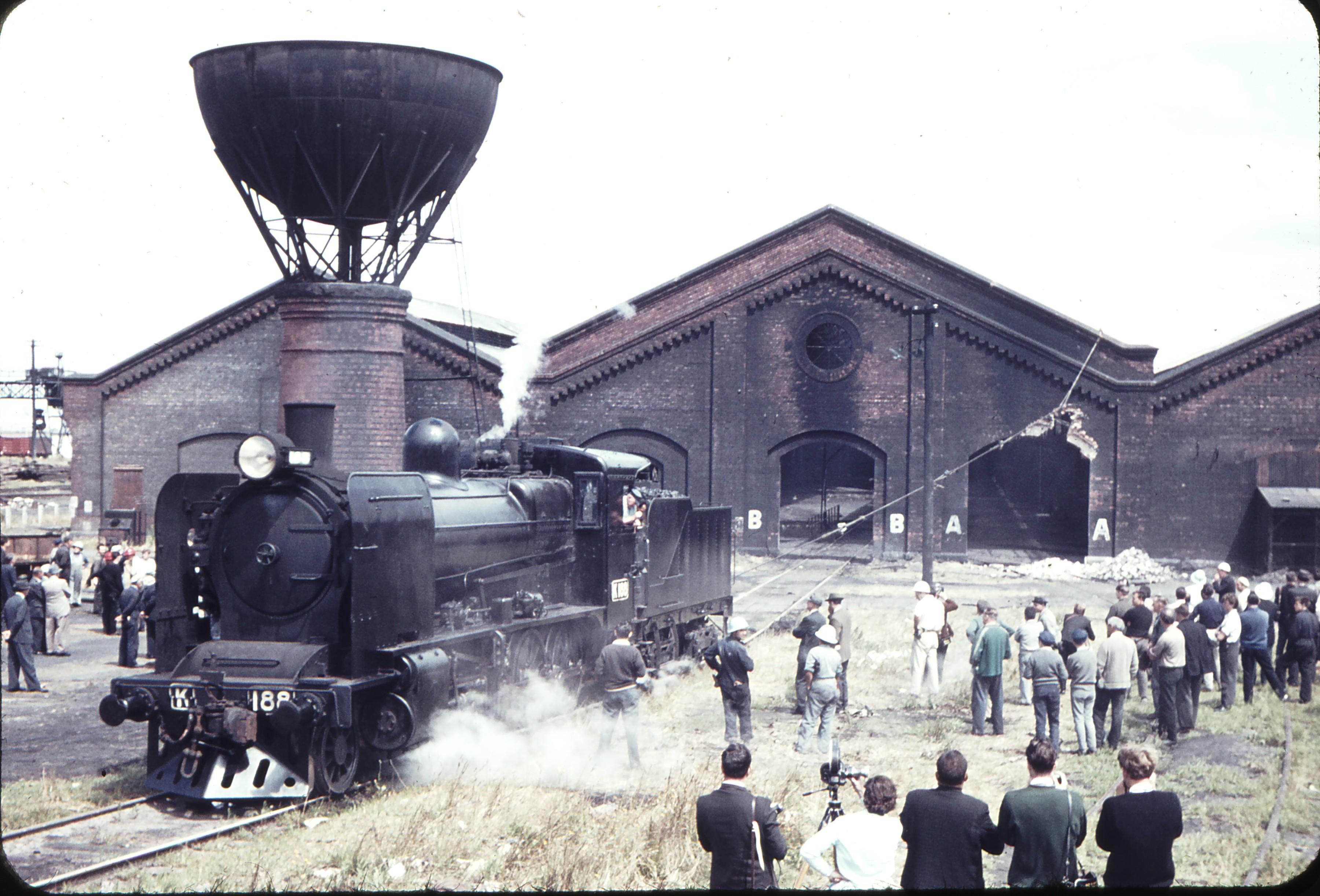 Home Depot Demolition : Weston langford  north melbourne locomotive depot