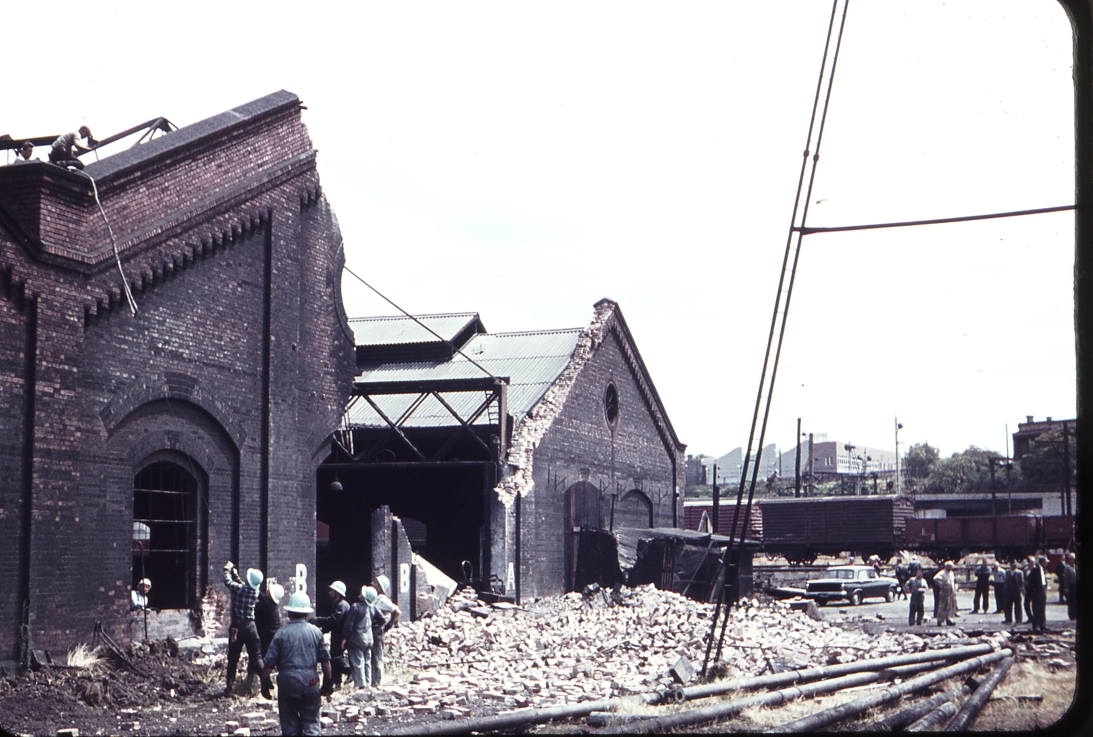 Weston langford 105443 north melbourne locomotive depot for House staging melbourne
