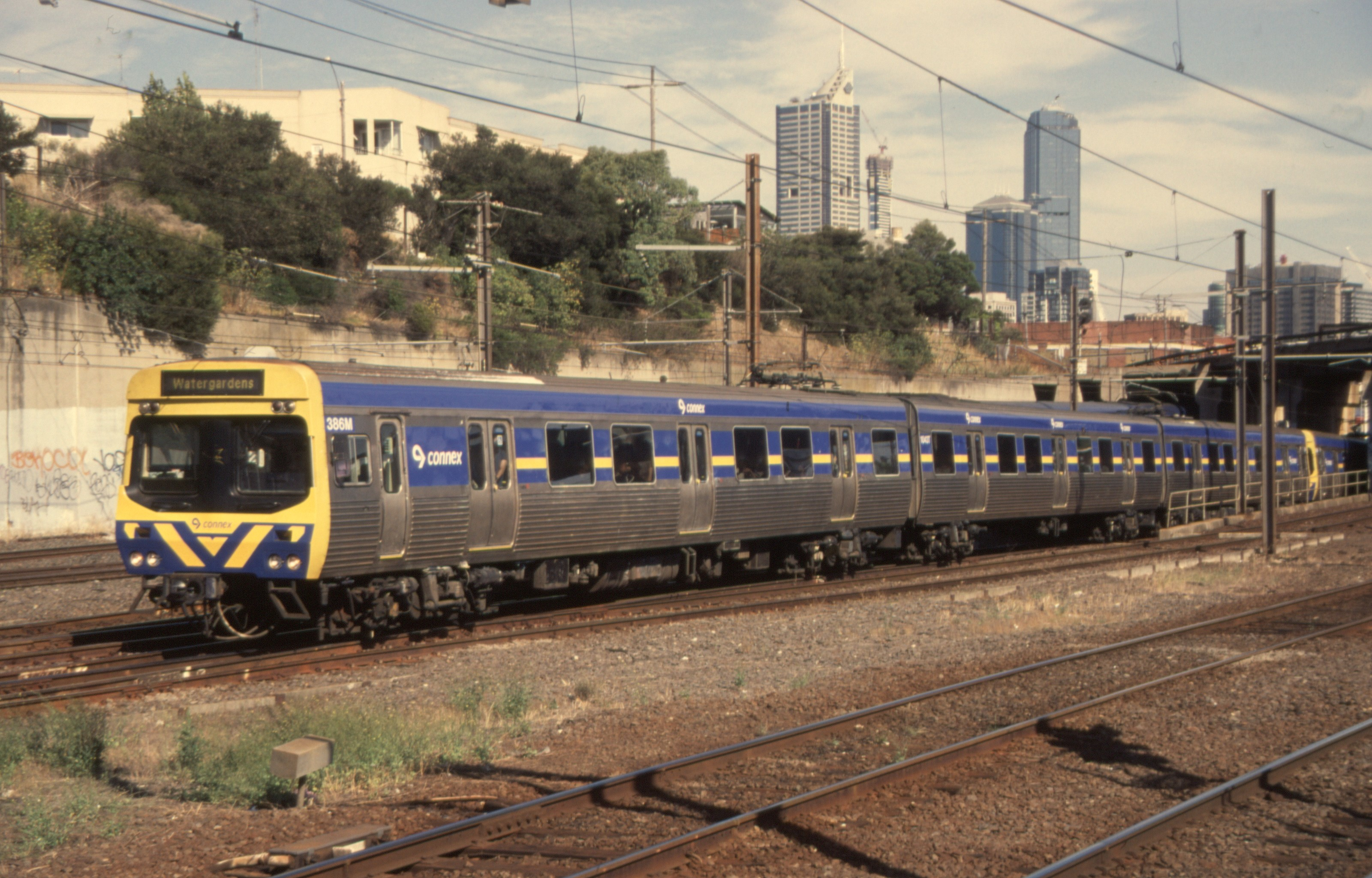 Weston Langford 130738 North Melbourne Suburban To Watergardens 6 Car Connex Ex Mtrain