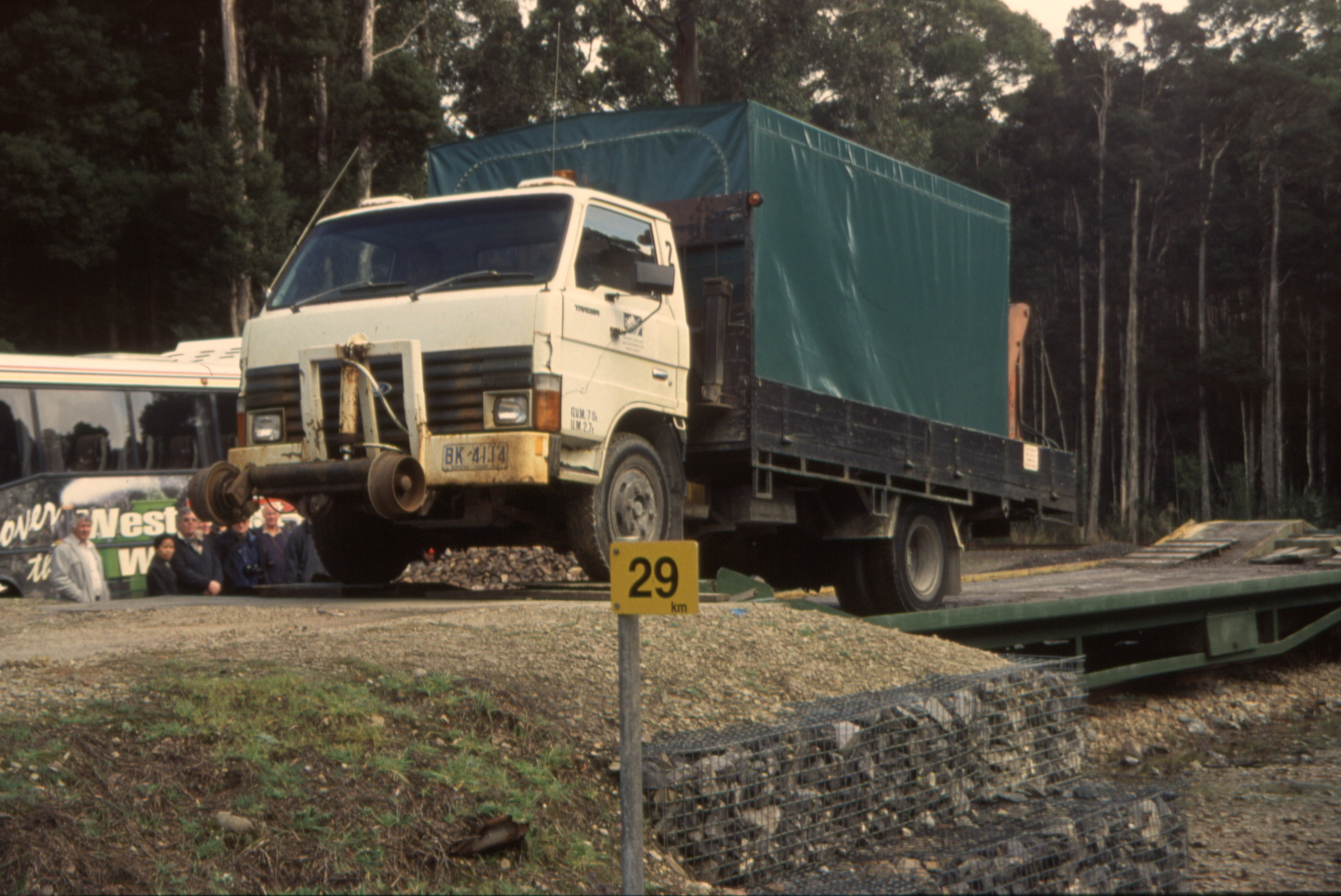Weston Langford132300: Lowanna Hi-Rail Inspection Vehicle at
