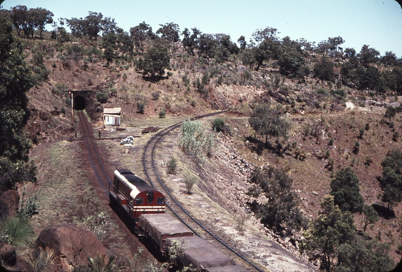 107001: Swan View Tunnel and Deviation down end Up Goods G 51