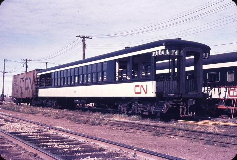 110261: Edmonton AB CN Edmonton City Yard Car 15097