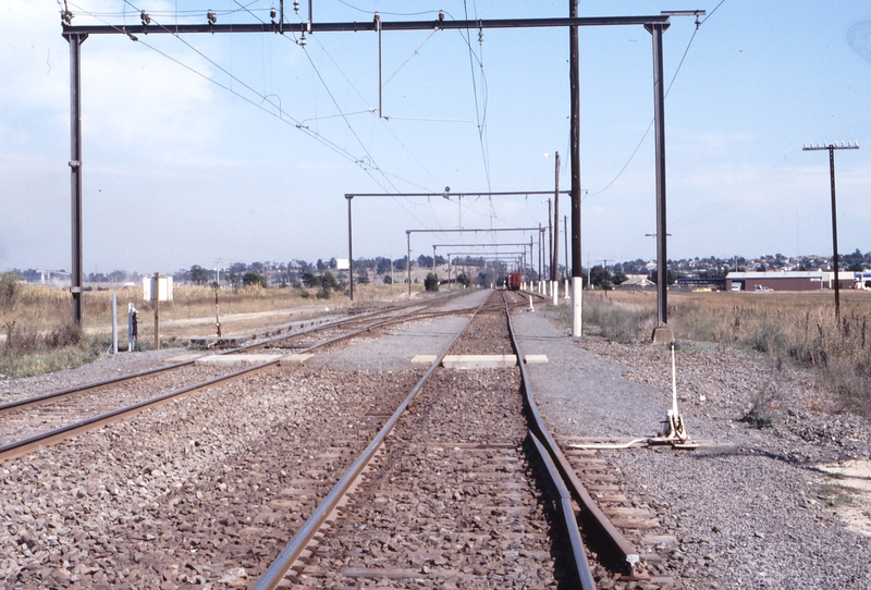 118300: Maryvale Siding East End Looking towards Melbourne