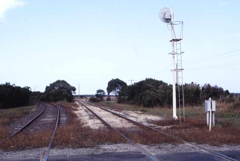 118311: Barry Beach Junction Looking towards Yarram and Barry Beach