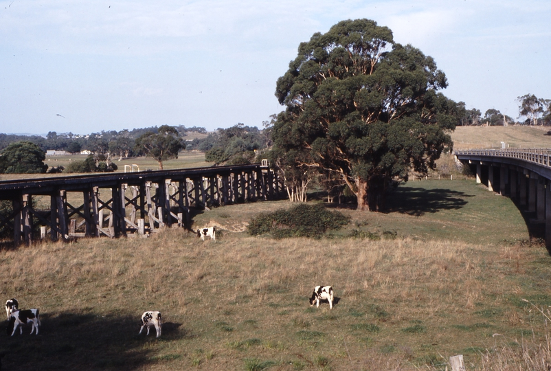 118326: Tarwin River Bridge km 140.7 Viewed from Melbourne End