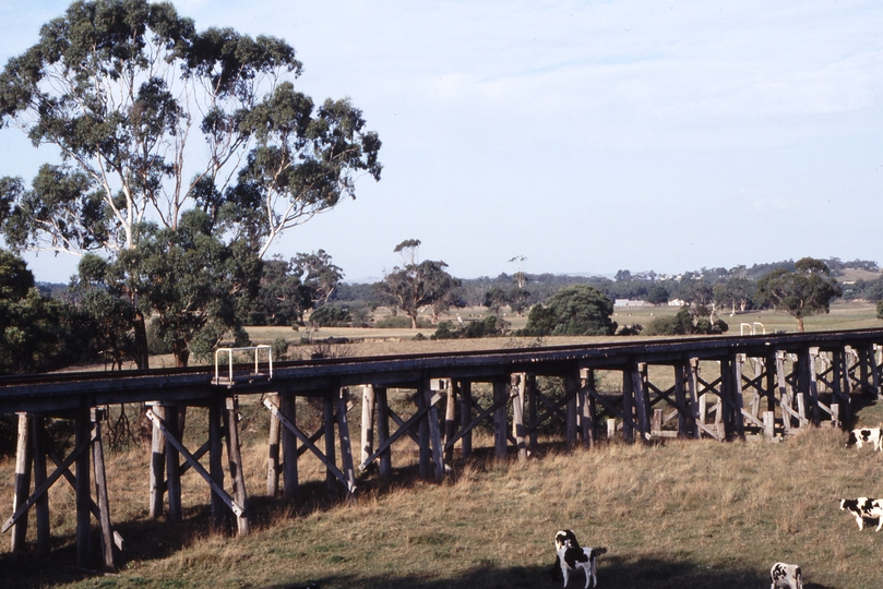 118327: Tarwin River Bridge km 140.7 Viewed from Melbourne End