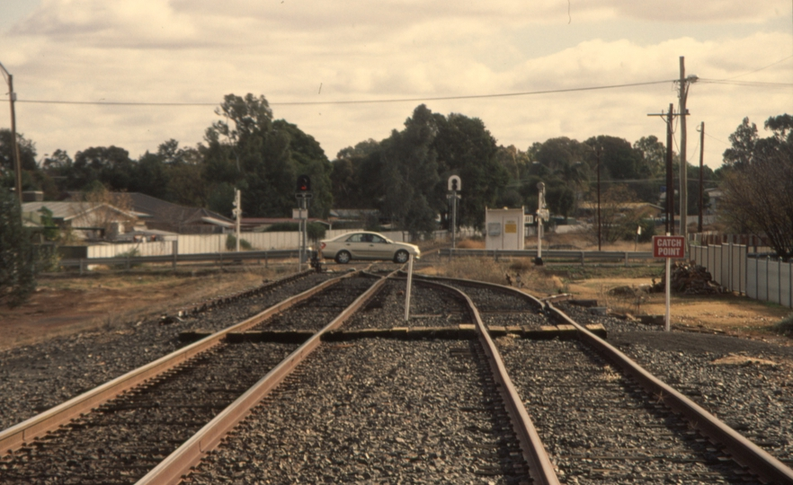 131056: Cobar West Switch looking towards CSA Junction