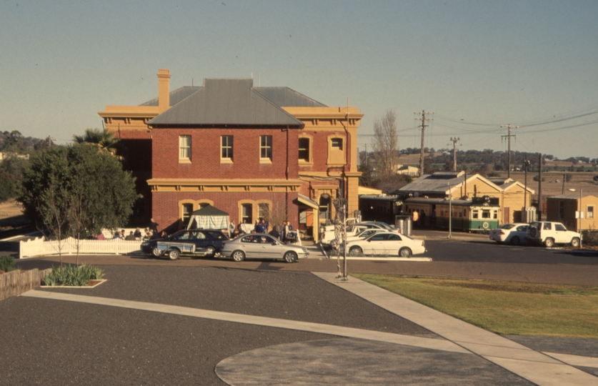 131101: Werris Creek North Aspect station building and Up ARHS Special CPH 1 CPH 7