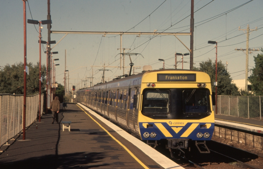 131124: Aspendale Suburban to Frankston 6-car Connex (ex MTrain), Comeng